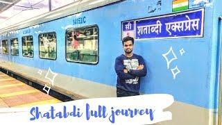 Shatabdi Express AC Chair Car Journey