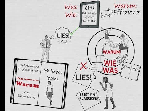 Frag immer erst WARUM YouTube Hörbuch Trailer auf Deutsch