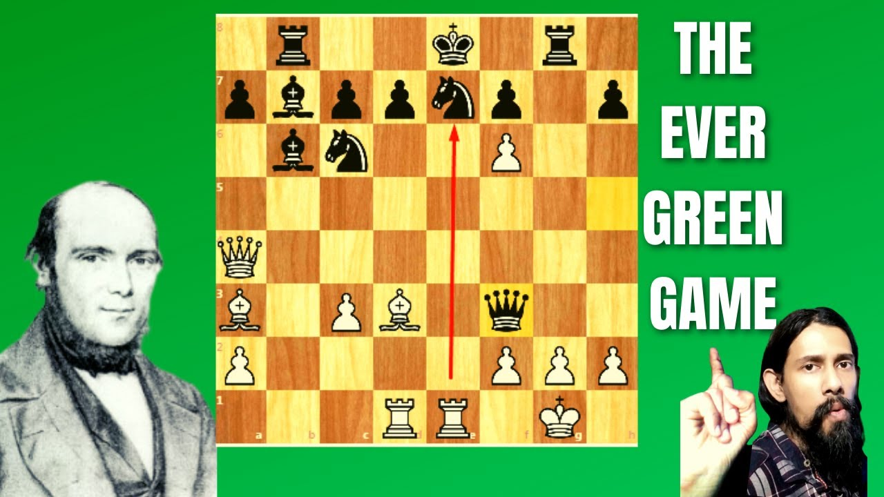 Download MOST BEAUTIFUL CHESS GAME EVER PLAYED   ATTACK ! ALWAYS ATTACK   The Evergreen Game -ANDERSSEN,1852