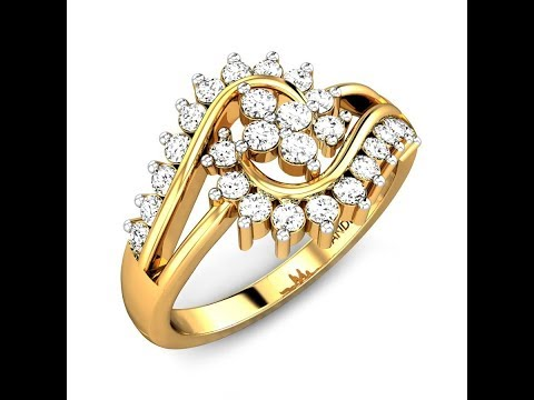 THE LEQUEEN DIAMOND RING - Candere By Kalyan