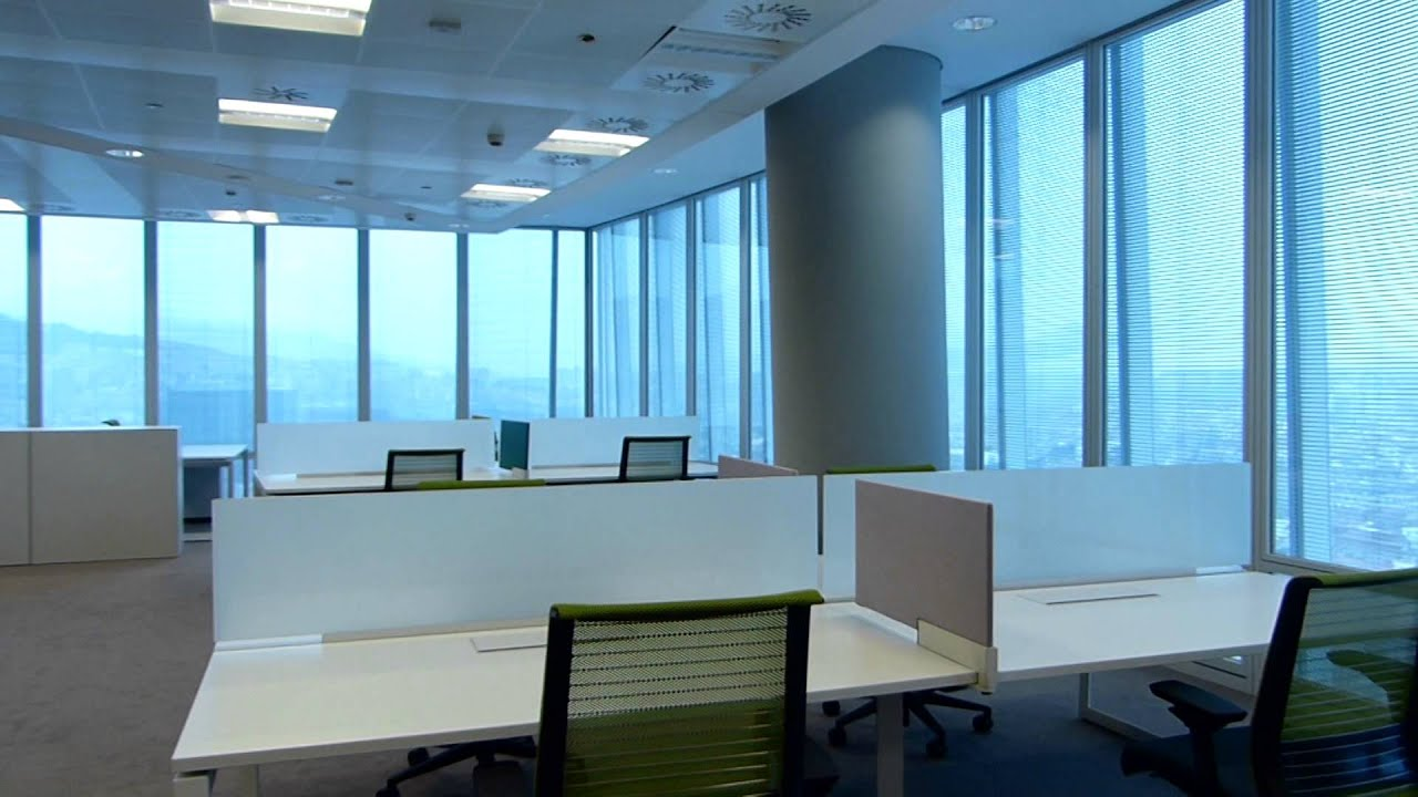 Dinof torre iberdrola oficina piloto youtube for Oficina iberdrola estepona