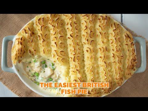 The Easiest British Fish Pie