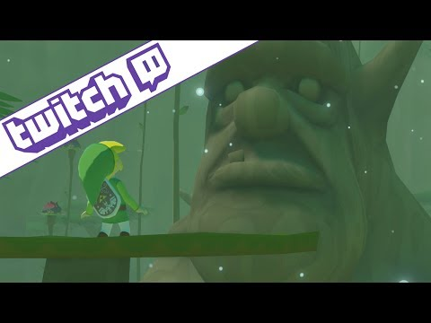Twitch | Wind Waker | Forbidden Forest Boss & SINGING!