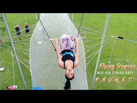 FLYING TRAPEZE – Things to do in Phuket, Thailand