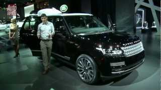New Range Rover at the Paris Motor Show - Auto Express