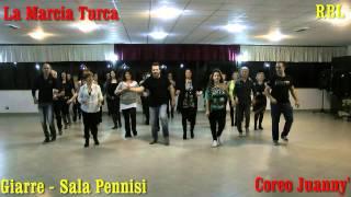 Balli di Gruppo 2013/14 La Marcia Turca , Juanny' Dance RBL