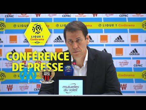 Conférence de presse Olympique de Marseille - OGC Nice ( 2-1 )  / 2017-18