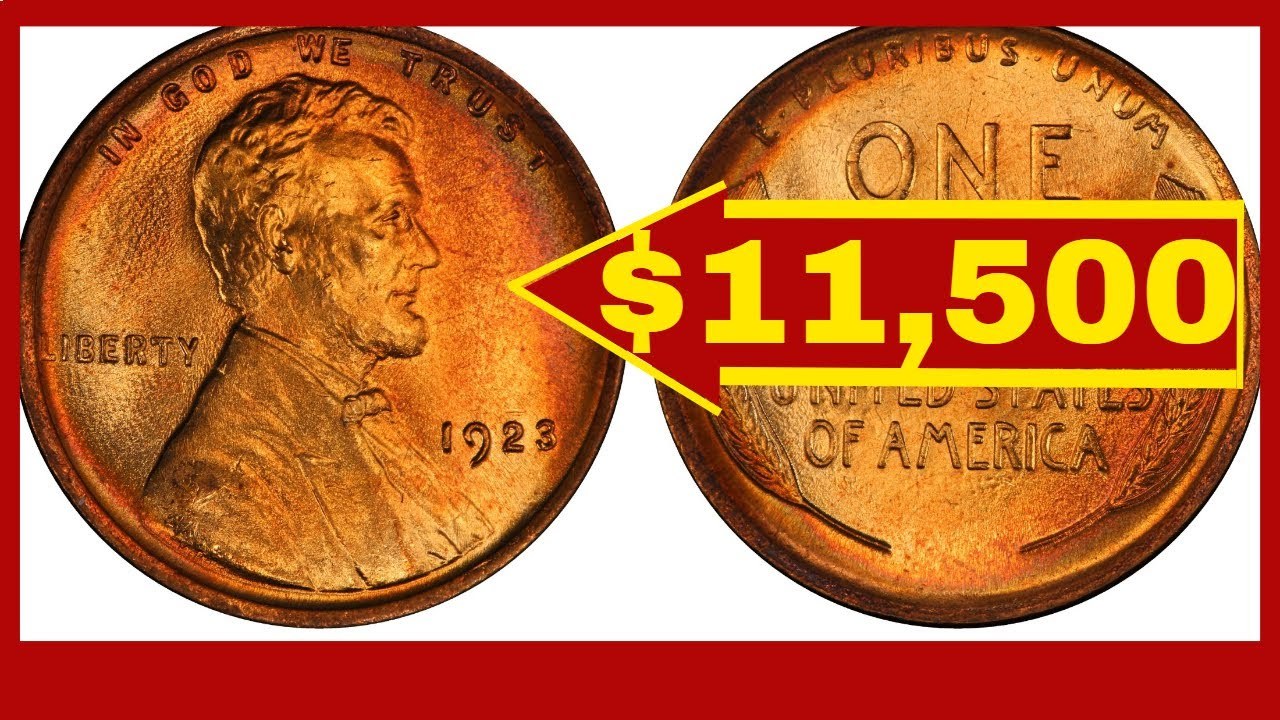 CHECK YOUR CHANGE FOR THIS VALUABLE 1923 PENNY! PENNIES WORTH MONEY!