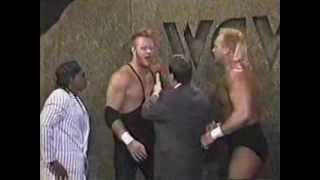 SN 1/6/90- New Skyscrapers vs Randy Harris & Agent Steel