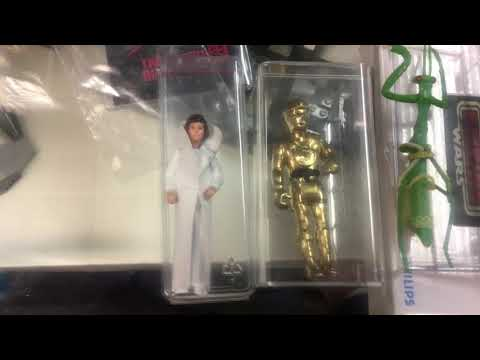 Old School Al Custom Star Wars Vintage Prototype Action Figures Fisher Price Leia C3PO