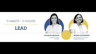 LEAD Masterclass with Sousan Abadian | April 24