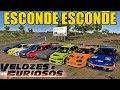 ESCONDE ESCONDE COM OS CARROS DO VELOZES E FURIOSOS - FORZA HORIZON 3 ONLINE