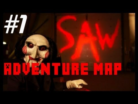 Minecraft Xbox 360 Adventure Map - SAW - Part 1 - Huge ...