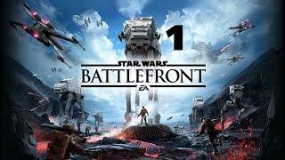 Star Wars: Battlefront #1- Początek Zabawy (Gameplay PL)