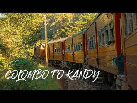 2 Minute Daily Travel Vlog || Sri Lanka - Colombo To Kandy Train Ride