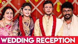 Vijay's Family Attends Parthiban's Daughter Wedding | Abhinaya & Naresh | Marriage Video