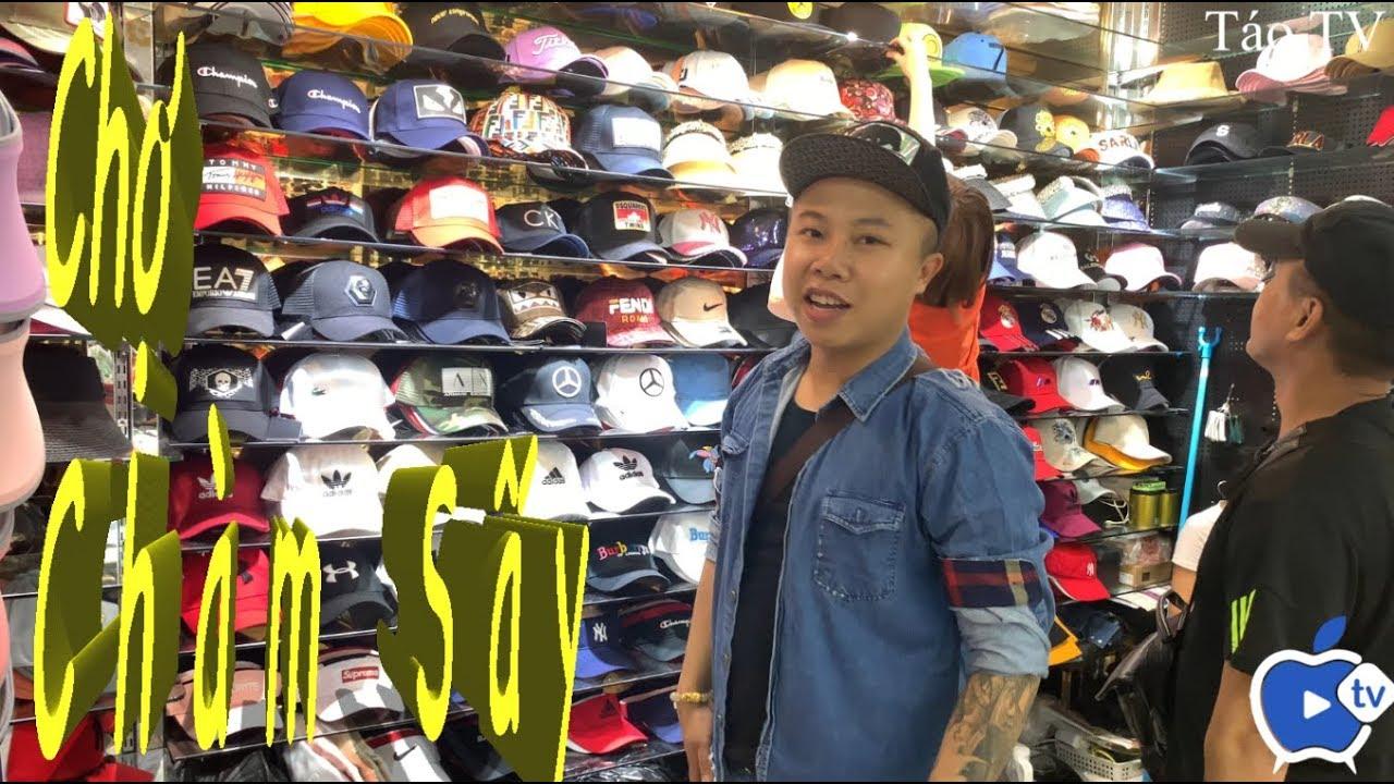 Chợ Sỉ Quần Áo Quảng Châu . Chợ Chàm Sấy .  (wholesale clothing market)
