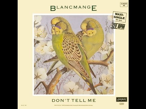 Blancmange - Don't Tell Me (Extended Mix) 1984