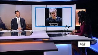 Brexit  Theresa May 'wages war' on EU