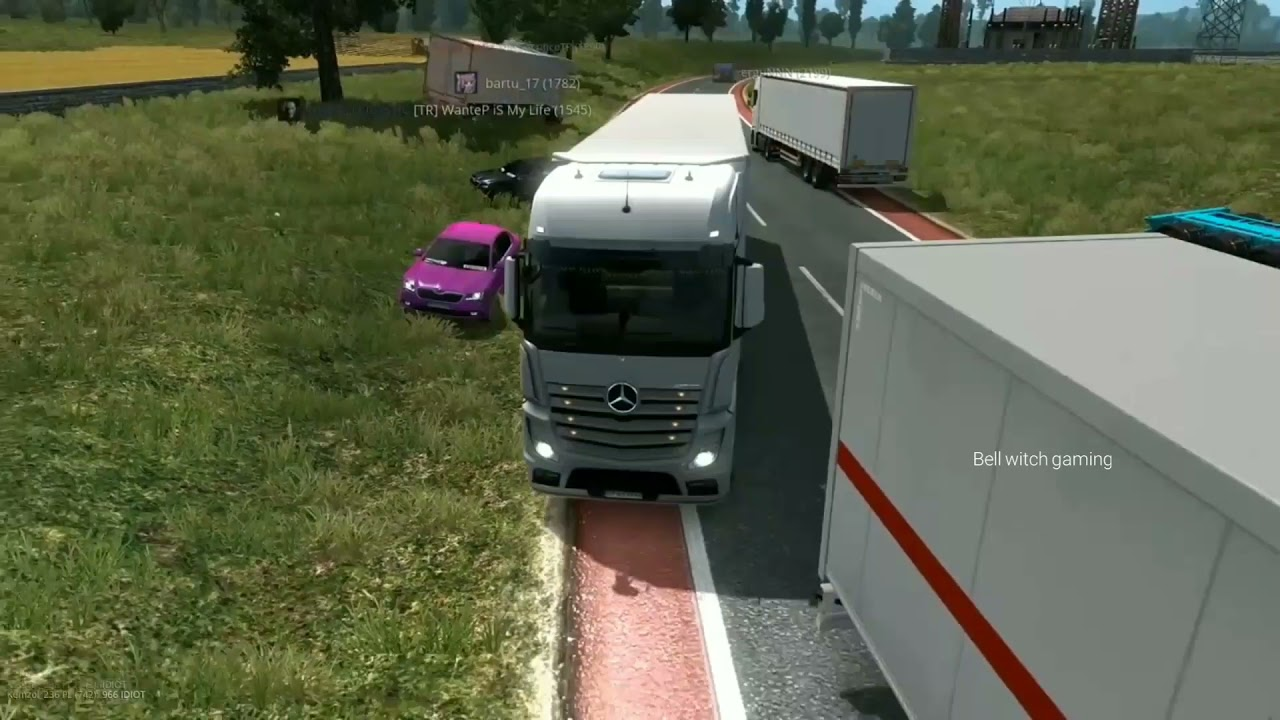 Download I Played ETDS2 Multiplayer For First Time Then This Happend = Idiot Drivers On Road 🤣#funny #troll