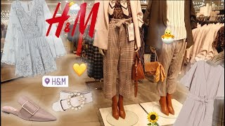 H&M Shopping Vlog 🐝 Spring 2019 Trends