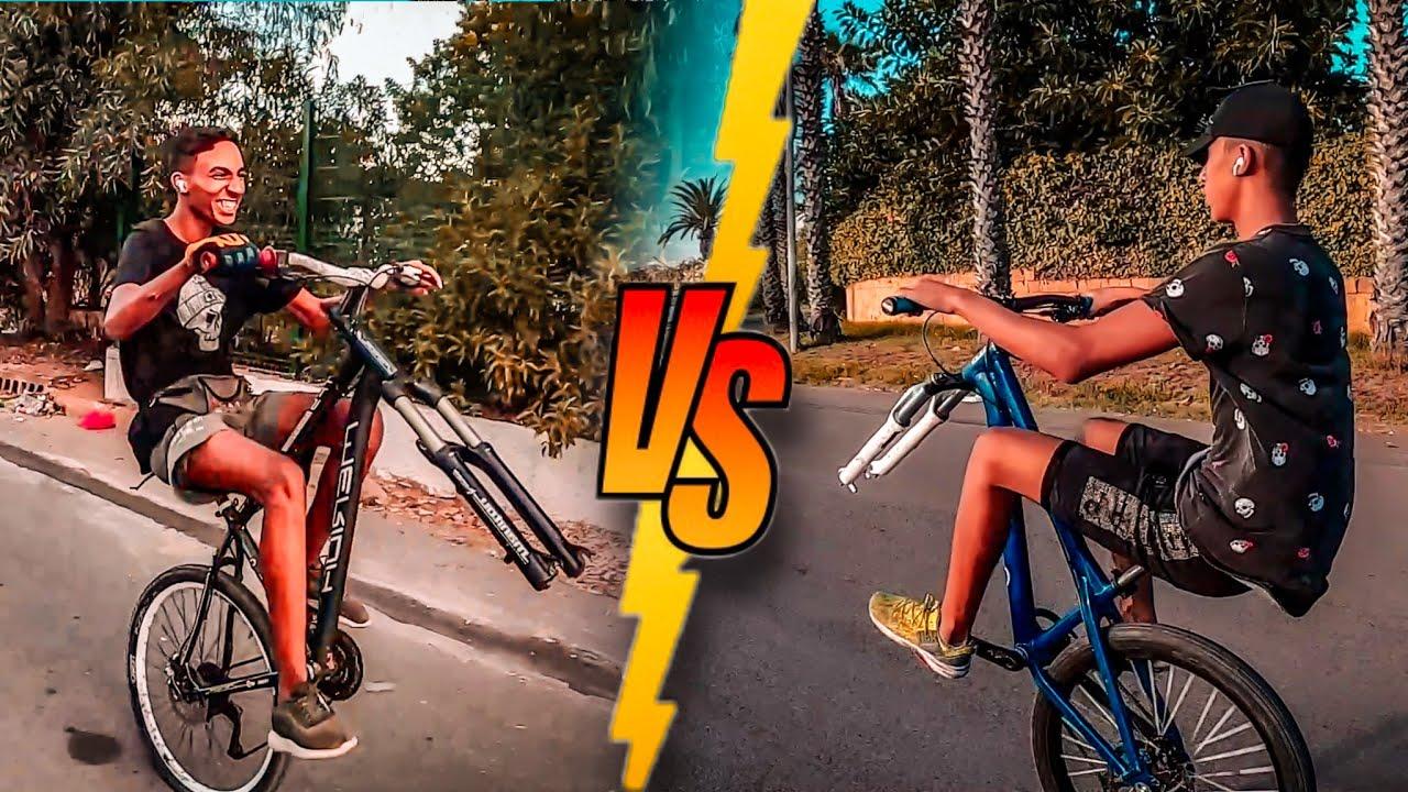 تحدي كابراج بدون عجلة امامية 😱| wheelie challenge 🔥