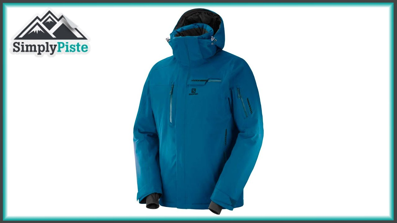 5ff1748b2e SALOMON Mens Brilliant Jacket Midnight Blue - www.simplypiste.com ...