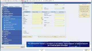 Electronisch factureren met SAP Business One
