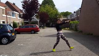 Major Lazor - Buscando Huella - ft J. Balvin & Sean Paul zumba choreo by Wendy Dance