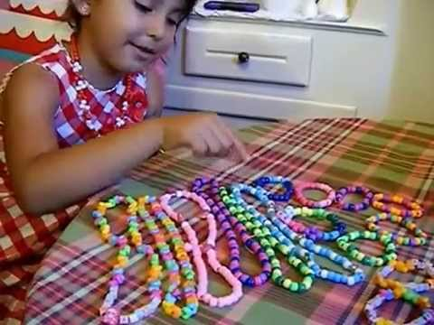 GIRL JEWELRY MADE WITH DOLLAR TREE BEADS