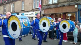 Craignuek True Defenders @ Larkhall Parade 2014