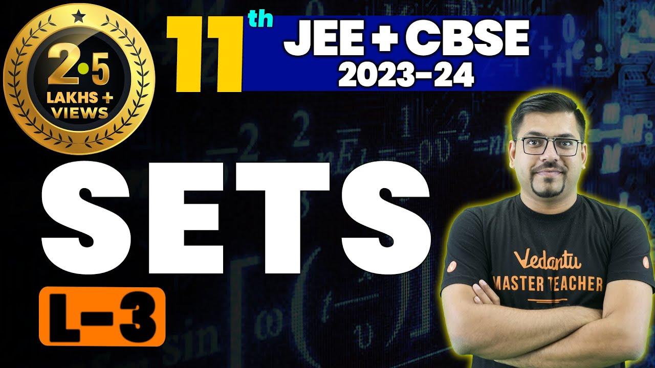 Download Sets L-3 | Class 11 Maths | JEE+CBSE | Harsh Priyam Sir | Umang-XI | Vedantu Math