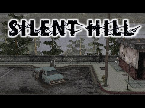 Ambient & Relaxing Silent Hill Music (w/ rain ambience)