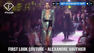 First Look Couture Fall/Winter 2017-18 Alexandre Vauthier | FashionTV