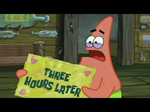 Three Hours Later (Patrick) | SpongeBob Time Card #23