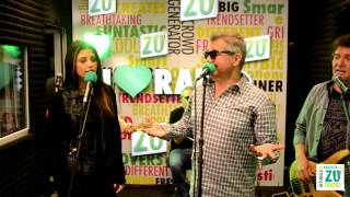 Holograf si Antonia - Cat de departe (Live la Radio ZU)