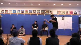 2015.08.15 Movement Vol6 popping solo battle Dance studio GALAXY.