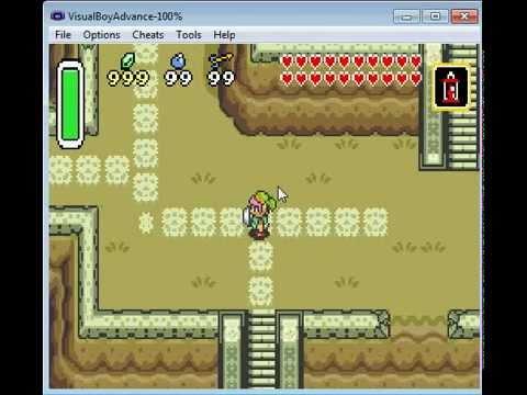 VBA Gameshark Codes Zelda Link to the Past