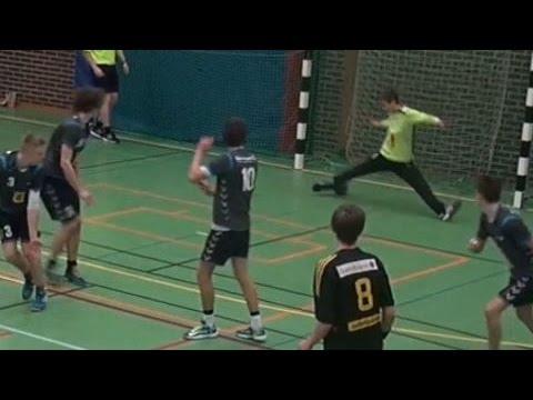 Håndbold U16D 2014-12-29 IK Sävehof (SWE) - Furesø (DEN)