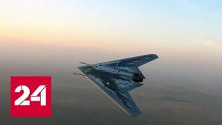 Невиданные крылатые роботы: эксклюзивный репортаж о беспилотниках – Россия 24