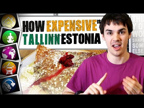 How Expensive is Tallinn, Estonia?