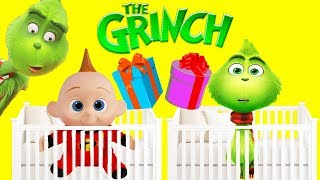 The Grinch Movie Jail Game Green Slime Compilation With Incredibles Family Jack Jack