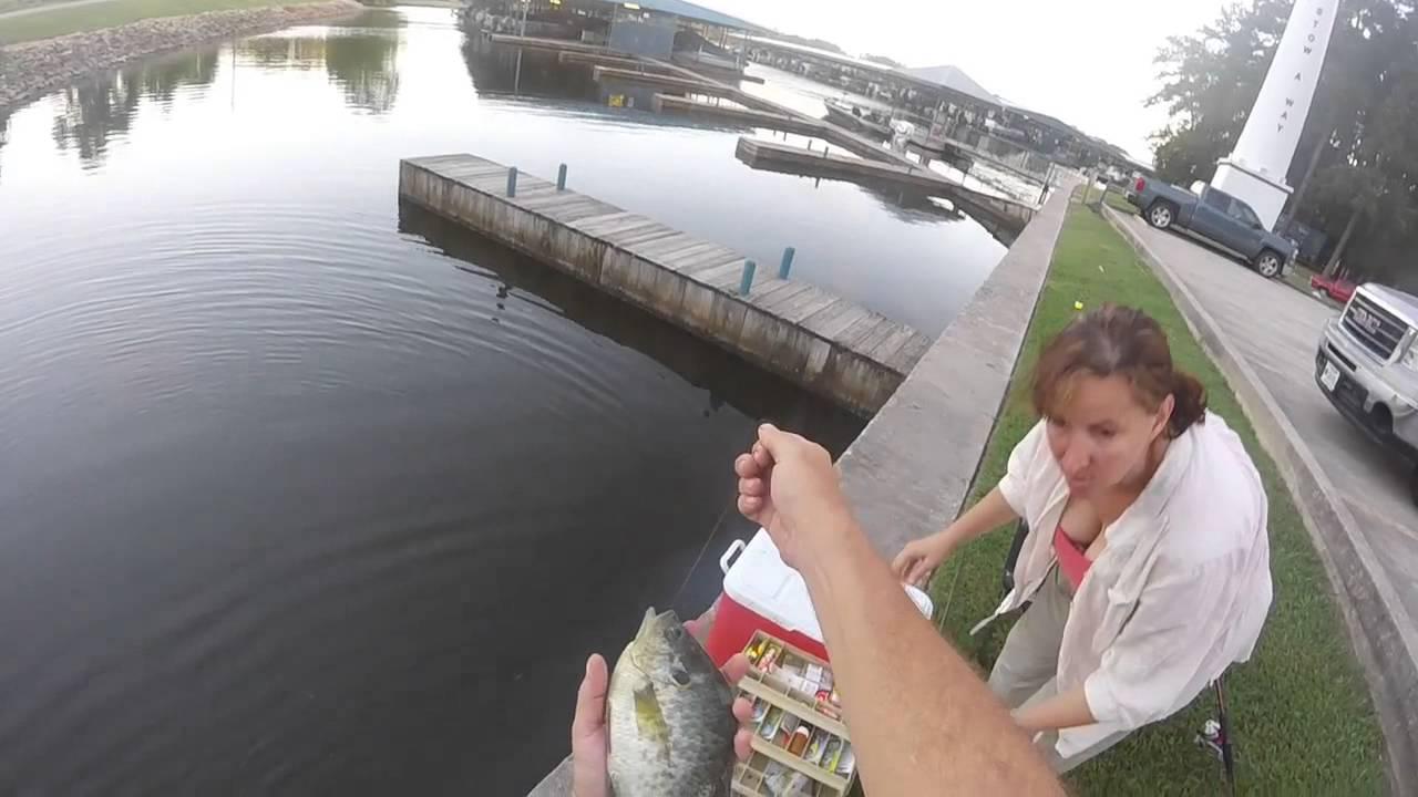 Good day fishing lake conroe texas youtube for Lake conroe fishing report