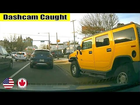 Ultimate North American Cars Driving Fails Compilation - 151 [Dash Cam Caught Video]