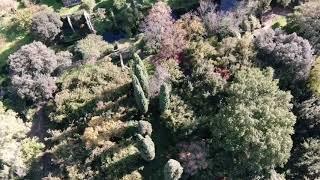 Giardini di ninfa con mavic 2 zoom✈️😉👍