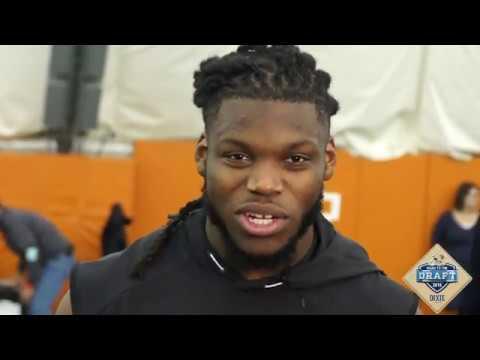 Texas Football 2018 Pro Day: Malik Jefferson 3-28-18