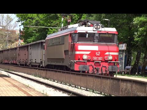 Trainspotting in Ljubljana (3.5.2017)-Vlaki v Ljubljani (3.5.2017)