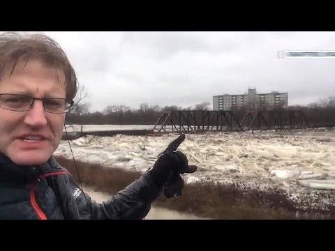 Brantford, Ontario state of emergency: HIGHLIGHTS, must-see visuals of ice jam