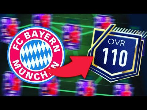 FULL 110 OVR FC BAYERN TEAM /FIFA MOBILE 19