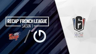 French League / Bastille Legacy vs MCES - Saison 1 / Jour 1